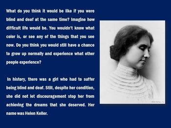Helen Keller PowerPoint