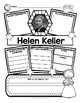 Helen Keller Organizers for Guided Research & Answer Key