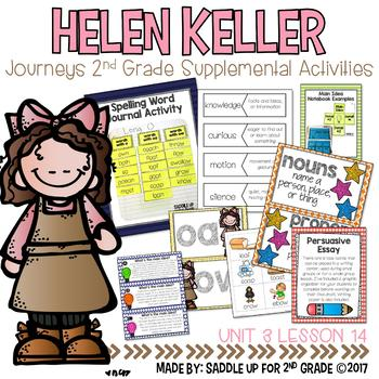 Helen Keller 2nd Grade Supplemental Activities