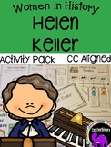 Helen Keller Activity Pack