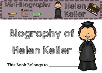 Helen Keller - Biography
