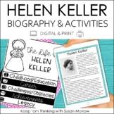 Helen Keller Biography & Reading Response Activities | Dig