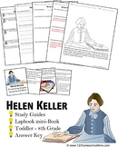 Helen Keller Biography Report (K-8th)