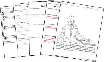 Helen Keller Biography Report (K-8th)