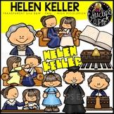Helen Keller Clip Art Bundle {Educlips Clipart}