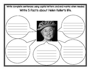 Helen Keller English and Spanish