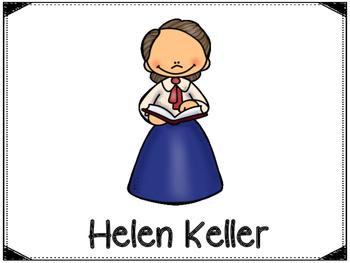 Helen Keller Graphic Organizers