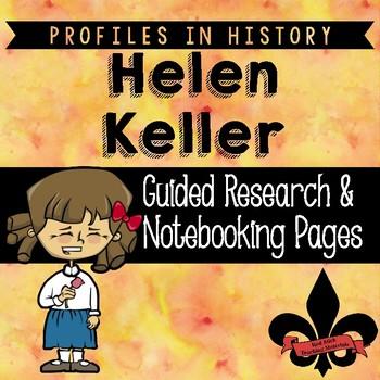 Helen Keller Guided Research Activity