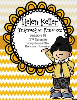 Helen Keller Interactive Resources (Aligned with Journeys 2nd Grade Unit 3)
