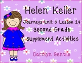 Helen Keller Journeys Unit 3 Lesson 14 Second Grade Supplement Activities