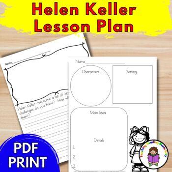 Helen Keller Lesson Plan