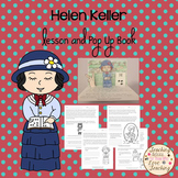 Helen Keller Lesson and Pop Up Book
