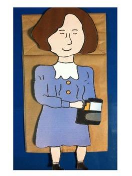 Helen Keller Puppet