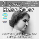 FSA & CCSS Aligned Helen Keller Reading Language/Editing Practice
