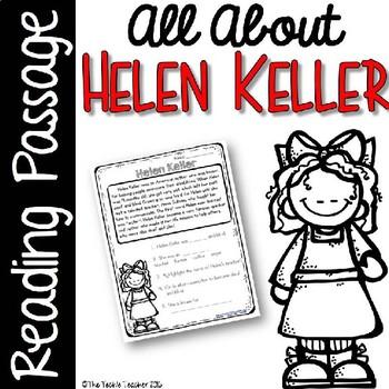 Helen Keller Reading Passage