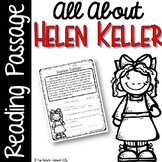 Helen Keller Reading Passage