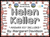 Helen Keller (Margaret Davidson) Novel Study / Reading Com