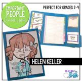 Helen Keller Research Lapbook