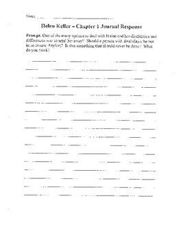 Helen Keller (Scholastic Biography) By Margaret Davidson Unit