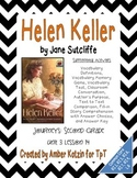 Helen Keller Supplemental Activities 2nd Grade Journeys Unit 3, Lesson 14