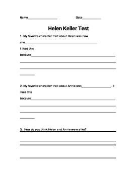 Helen Keller Test