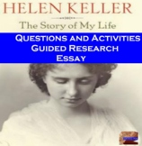 Helen Keller The Story of My Life   Activities  and Guided