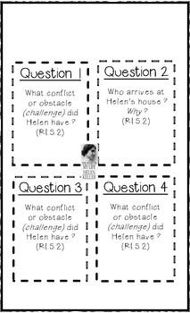 Helen Keller - The Story of My Life Chapter IV - Text Talk Organizer