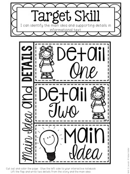 Helen Keller Unit 3, Lesson 14 Journeys Print & Go with Interactive Pages