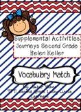 Helen Keller Vocabulary Match