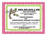 Helen Keller and the Big Storm Foldable Scott Foresman Reading Street 2nd grade
