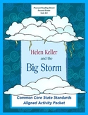 Helen Keller and the Big Storm Reading Street Unit 4.5 Complete  Activity Packet