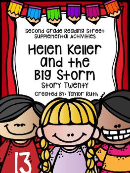 Helen Keller and the Big Storm Supplemental Activities (Re