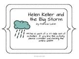Helen Keller and the Big Storm Trifold Scott Foresman Reading Street Grade 2