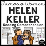 Helen Keller Reading Comprehension questions, civil rights, disabilities