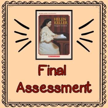 Helen Keller by Margaret Davidson:           Final Test