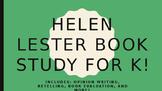 Helen Lester Book Study for K!