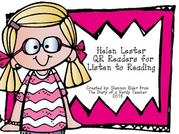 Helen Lester/Tacky the Penguin QR Readers for Listen to Reading