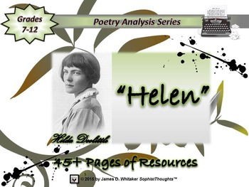 Helen by Hilde Doolittle Poem Analysis