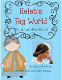 Helen's Big World-The Life of Helen Keller by Doreen Rappaport-Book Journal