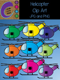 Helicopter Clip Art Color Images
