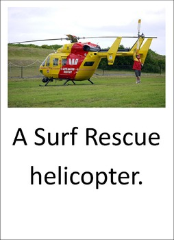 Helicopters. A LOOK BOOK Easy Reader