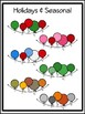 Helium Balloon Buntings Clipart