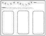 Hellen Keller- Character Trait