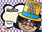 Hello 2017 Happy New Year Writing