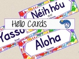Word Cards Hello