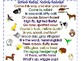 Hello and Welcome Animal Rhyme Cards & Posters, Farm, Zoo, Jungle & Wild Animals