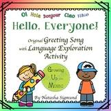 Hello Around The World: Original Song/Language Exploration