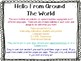 Hello Around the World Speech Bubbles