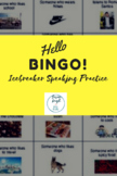 ESL Hello Bingo Icebreaker Beginning of Year Activity for