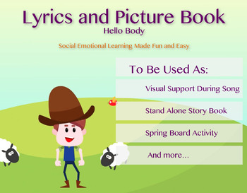 Hello Body Lyrics and Picture Book